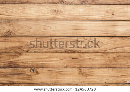 Big Brown wood plank wall texture background Royalty-Free Stock Photo #124580728