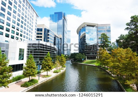 The Waterway at The Woodlands, Texas #1246015291