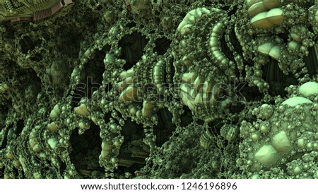 Highly detailed intricate fractal art #1246196896