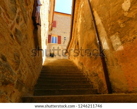 Stair in San Marino #1246211746