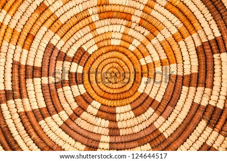 Colorful Native American Woven Background Pattern