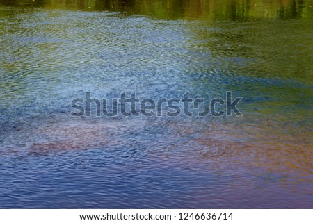 River water surface #1246636714