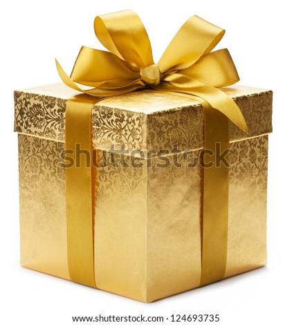 Gift box Royalty-Free Stock Photo #124693735
