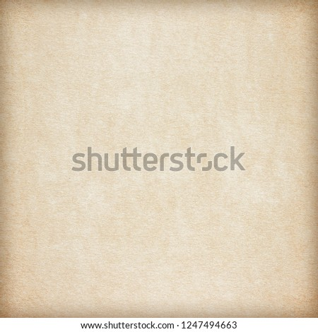 Old Paper texture. vintage paper background or texture; brown paper texture #1247494663