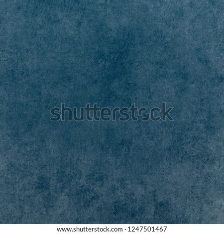 Blue designed grunge texture. Vintage background with space for text or image #1247501467