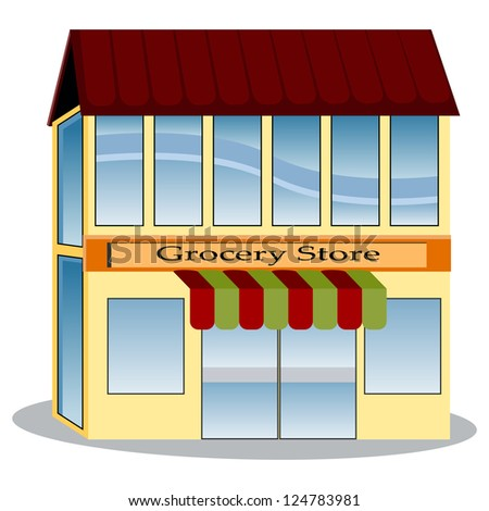 An image of a grocery store.