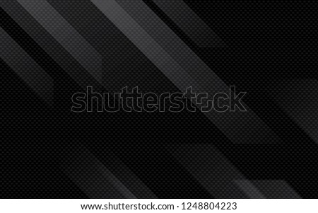 Black abstract geometric background. Modern shape concept. Royalty-Free Stock Photo #1248804223