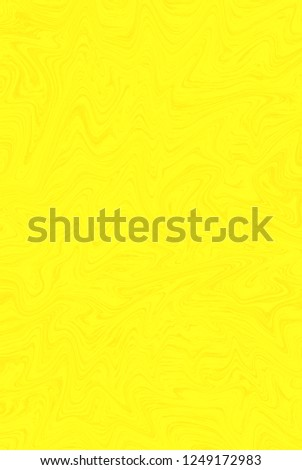 Yellow digital abstract creative background from curved lines. Illustration #1249172983
