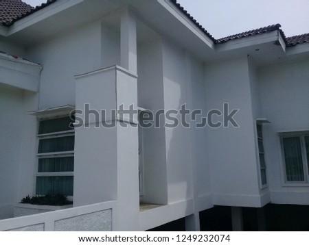 Pangkep, Makassar, Indonesia - Nov 25, 2018  Official Residence President of Pangkep City - Regent Service House (Editorial) #1249232074