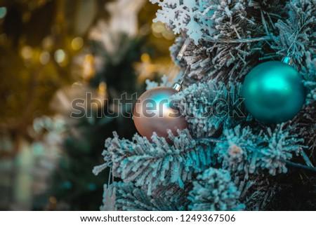 Christmas background; Christmas decorations #1249367506