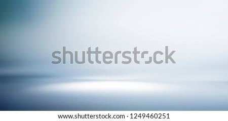 Empty studio gradient background and display product #1249460251