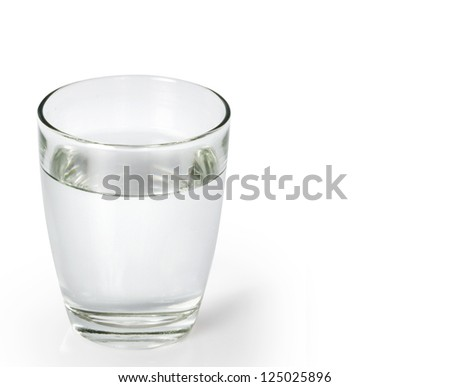 glass of water #125025896