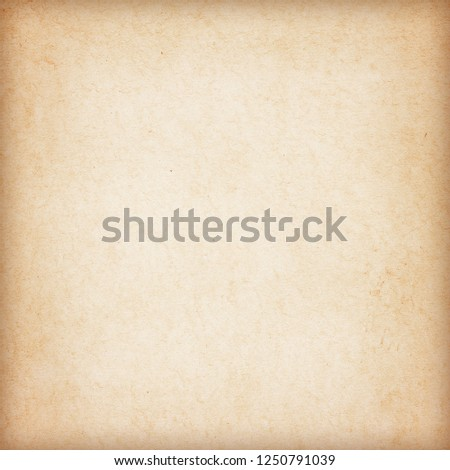 Old Paper texture. vintage paper background or texture; brown paper texture #1250791039