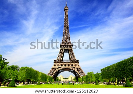 Paris Best Destinations in Europe Royalty-Free Stock Photo #125112029