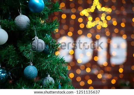 New year 2019 Christmas #1251135637