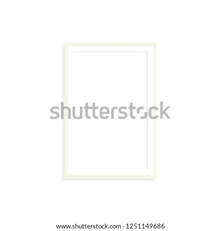 photo frame rectangular #1251149686
