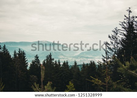 The pic was made on top of the Villacher Alpenstraße #1251328999