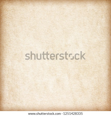 Old Paper texture. vintage paper background or texture; brown paper texture #1251428335
