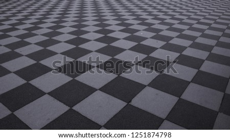 Chessboard in the city #1251874798