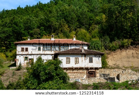 Sukovo orthodox monastery is located near Jerma River in Serbia, its constrution dates back to 4th centuries. at the door of the doorway, the shops are written, here you can buy souvenirs and candles. #1252314118