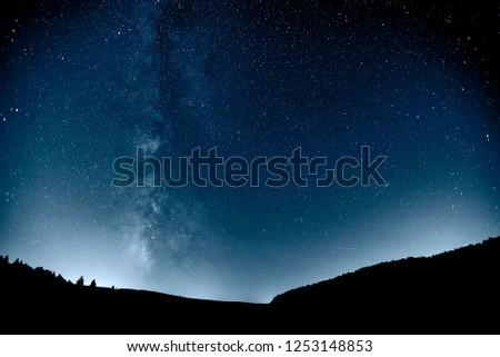 Perseid meteor shower 2018. #1253148853