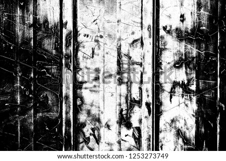 Abstract background. Monochrome texture. Image includes a effect the black and white tones. #1253273749