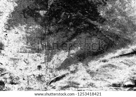 Abstract background. Monochrome texture. Image includes a effect the black and white tones. #1253418421