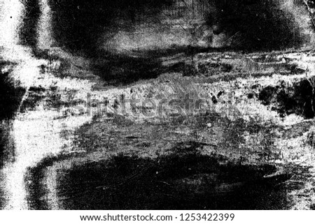 Abstract background. Monochrome texture. Image includes a effect the black and white tones. #1253422399