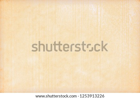 Old Paper texture. vintage paper background or texture; brown paper texture #1253913226