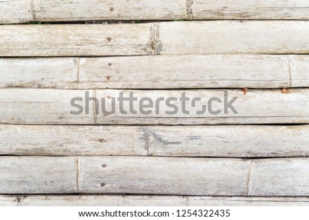 bamboo wooden path  background. #1254322435