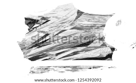 Brush stroke and texture. Abstract painted grunge background. #1254392092
