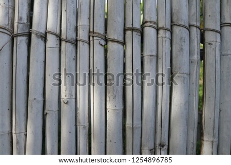 Old bamboo texture background #1254896785