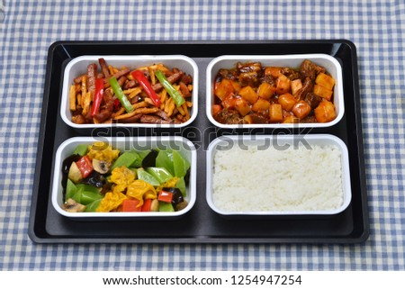 High speed meal meal meal meal set spicy chicken beef potatoes #1254947254