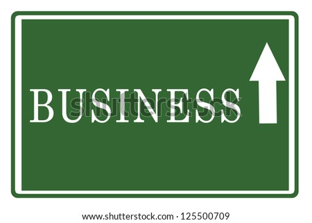 Business on Highway Board #125500709