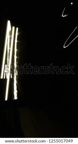 bright lights on a dark background , fireworks  #1255017049