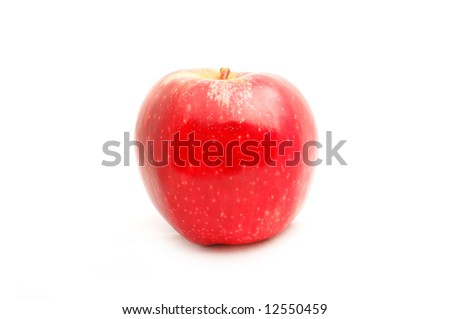 Apple on white background #12550459