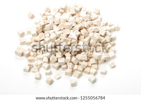 Poria cocos on white background #1255056784