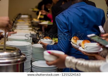 Buffet Dinner and Formal Wear #1255224163