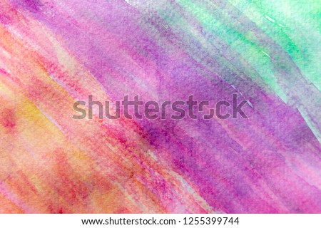 Watercolor painted background #1255399744