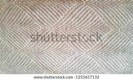 brown pillowcase texture Royalty-Free Stock Photo #1255657132