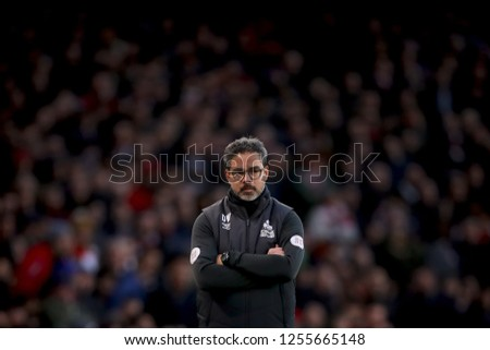 Manager of Huddersfield Town, David Wagner - Arsenal v Huddersfield Town, Premier League, Emirates Stadium, London (Holloway) - 8th December 2018  #1255665148