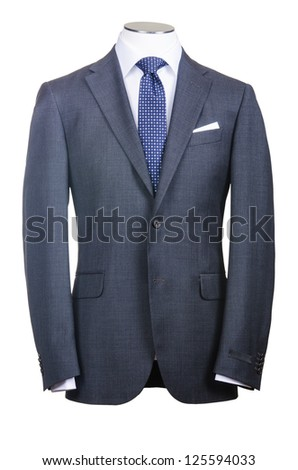 Formal suit in fashion concept #125594033