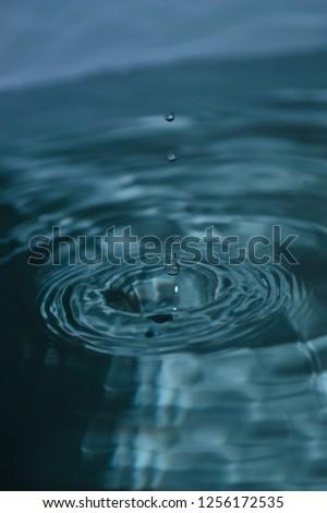 splash water drops #1256172535