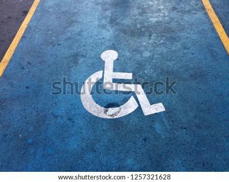 Lens disabled parking #1257321628