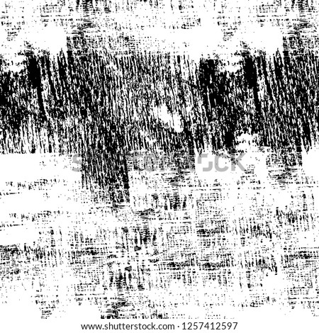 Vector grunge overlay texture. Black and white background #1257412597