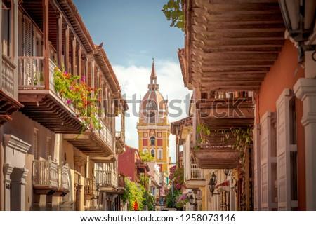 Cartagena de Indias the walled city - Colombia #1258073146