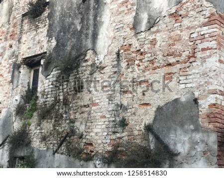 old house and wall texture #1258514830