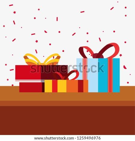 gift box celebration #1259496976