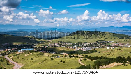 Cripple Creek Colorado Overlook #1259693464