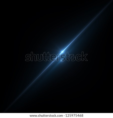 Abstract image of  lighting flare #125975468